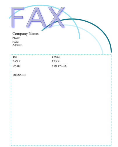 Arches Fax Cover Sheet At Freefaxcoversheets.Net
