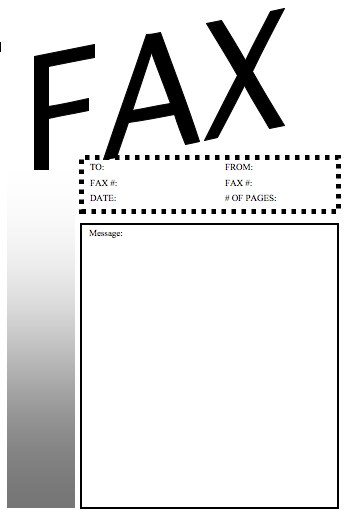 Basic  Fax Cover Sheet At FreefaxcoversheetsNet