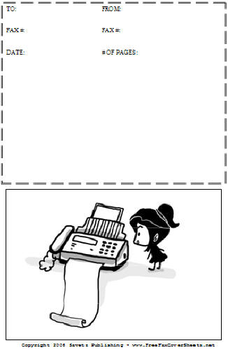 cartoon  33 fax cover sheet at freefaxcoversheets net
