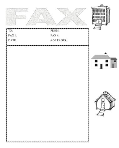 Homes Fax Cover Sheet At Freefaxcoversheets.Net